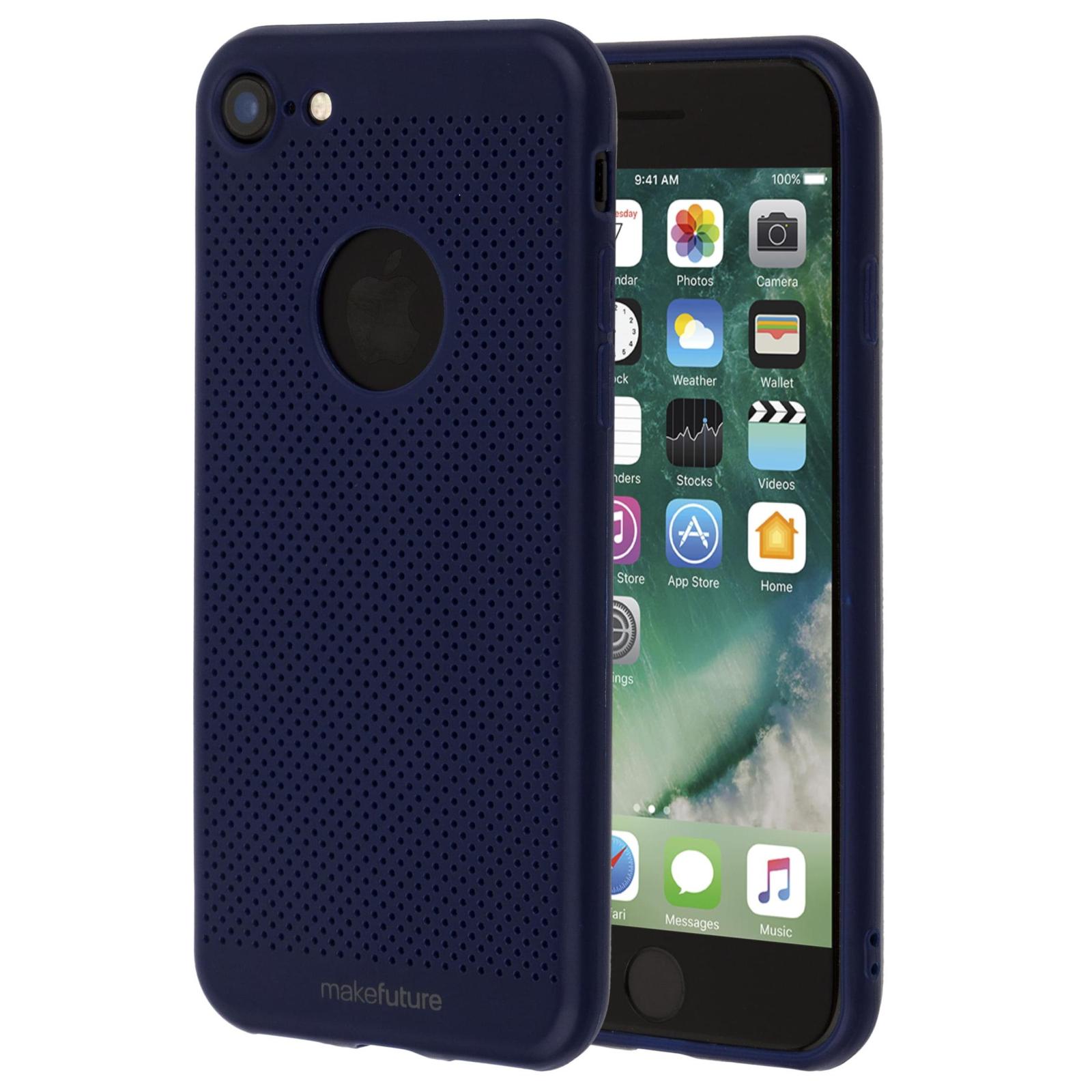 Чехол для моб. телефона MakeFuture Moon Case (TPU) для Apple iPhone 7 Blue (MCM-AI7BL) изображение 2