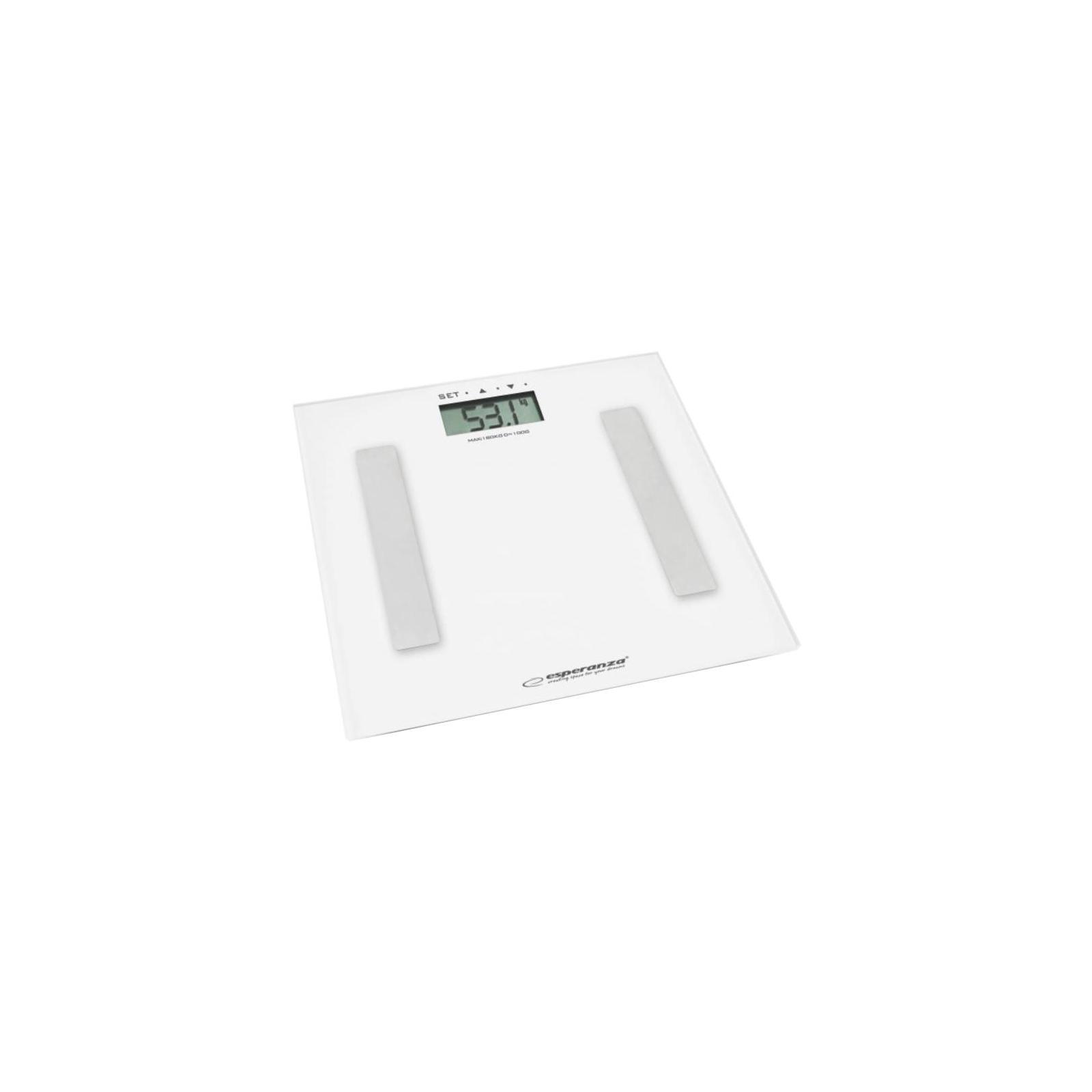 Весы напольные Esperanza EBS001W