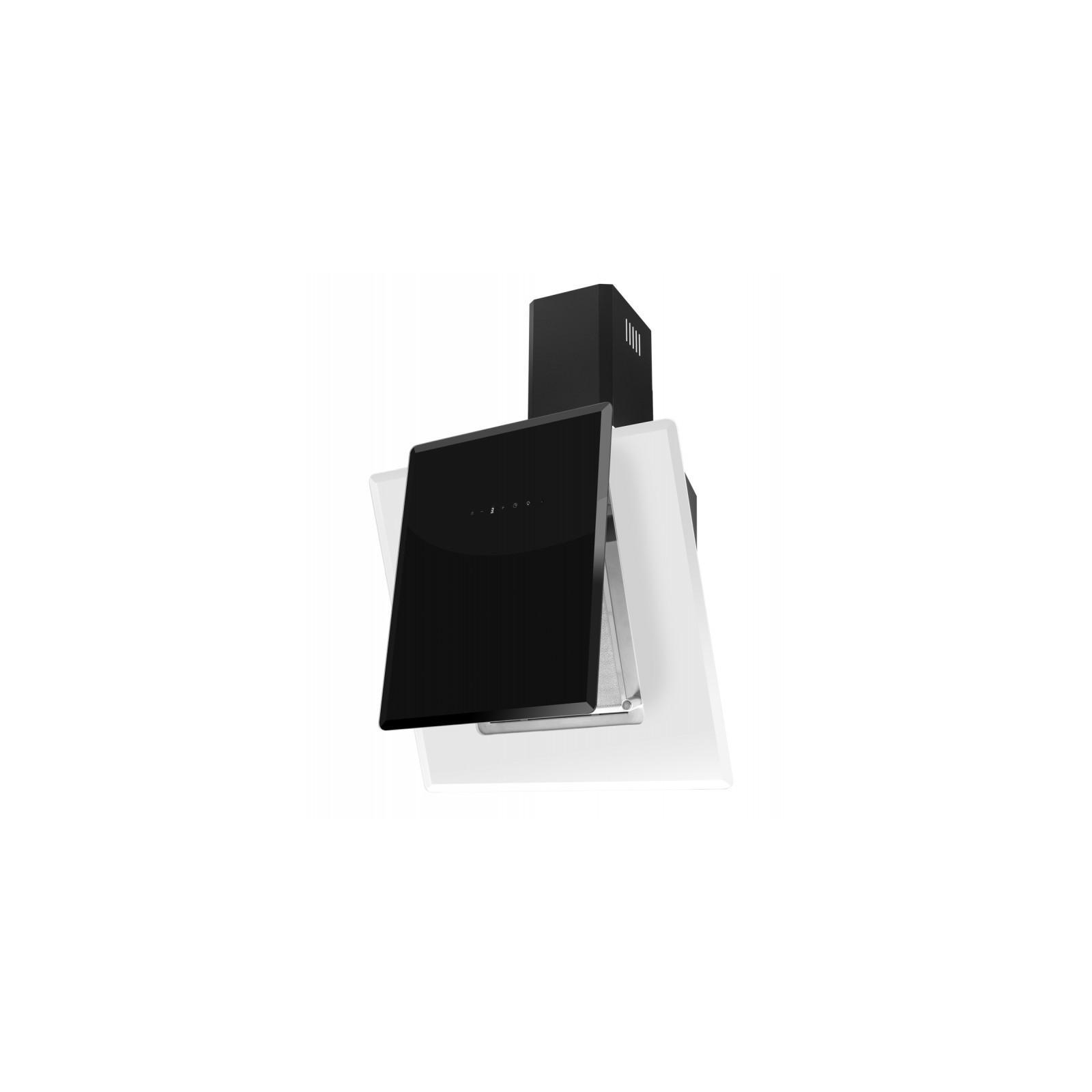 Вытяжка кухонная VENTOLUX FIJI 60 BK/WH (1000) TC IT изображение 3