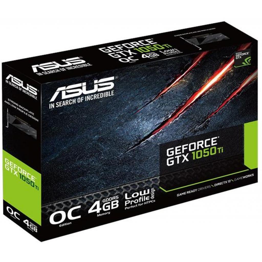 Видеокарта ASUS GeForce GTX1050 Ti 4096Mb OC LP (GTX1050TI-O4G-LP-BRK) изображение 6