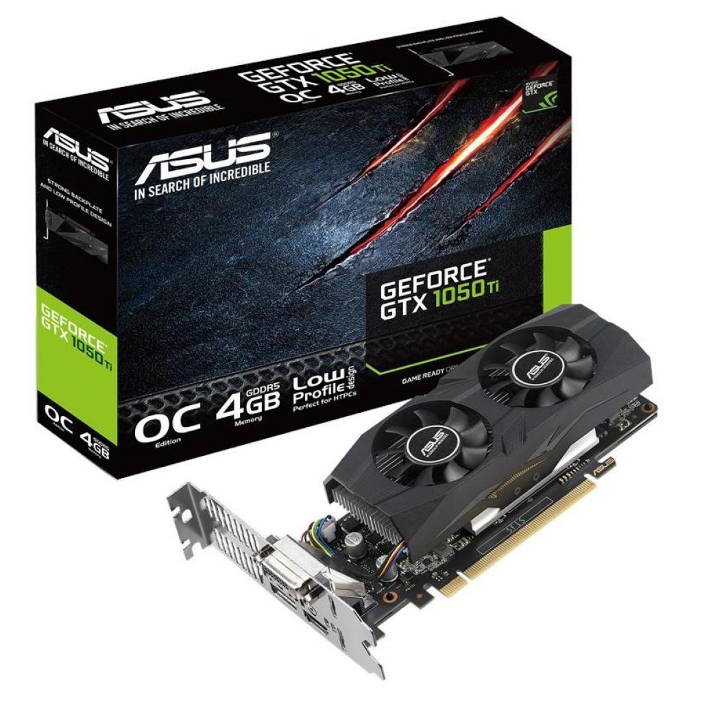 Видеокарта ASUS GeForce GTX1050 Ti 4096Mb OC LP (GTX1050TI-O4G-LP-BRK)