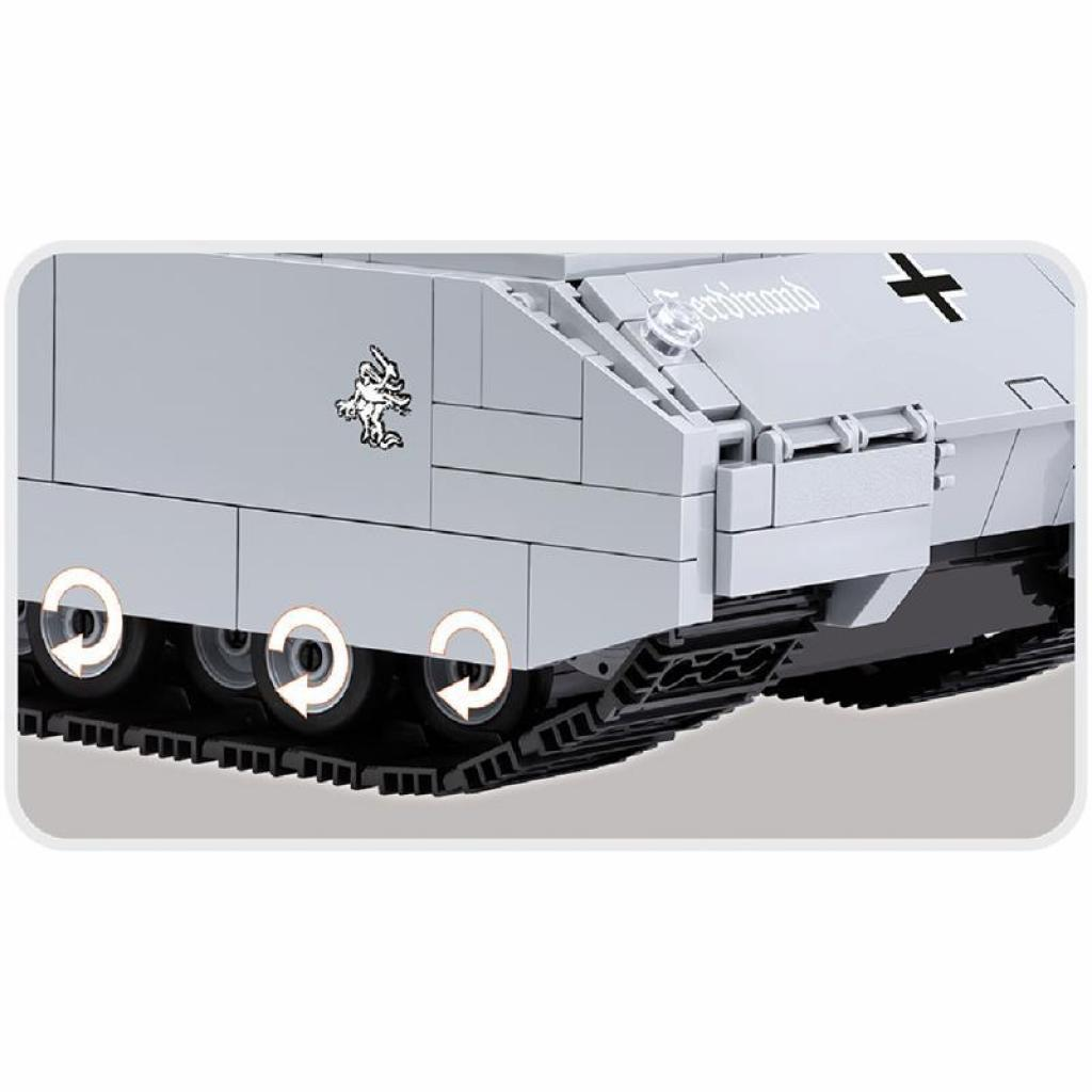 Конструктор Cobi World Of Tanks Maus, 900 деталей (COBI-3024) изображение 5