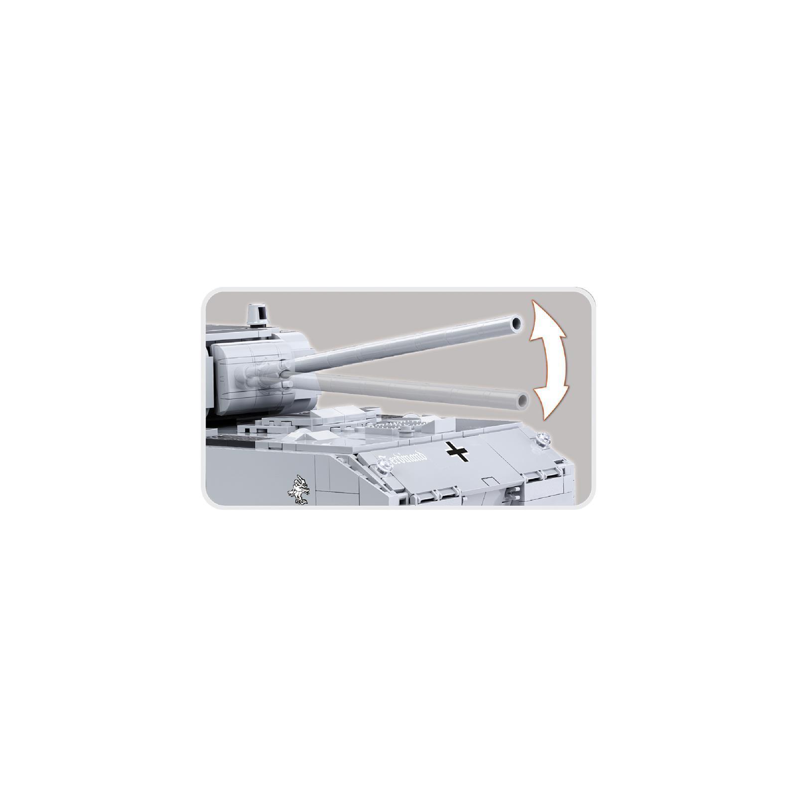 Конструктор Cobi World Of Tanks Maus, 900 деталей (COBI-3024) изображение 7