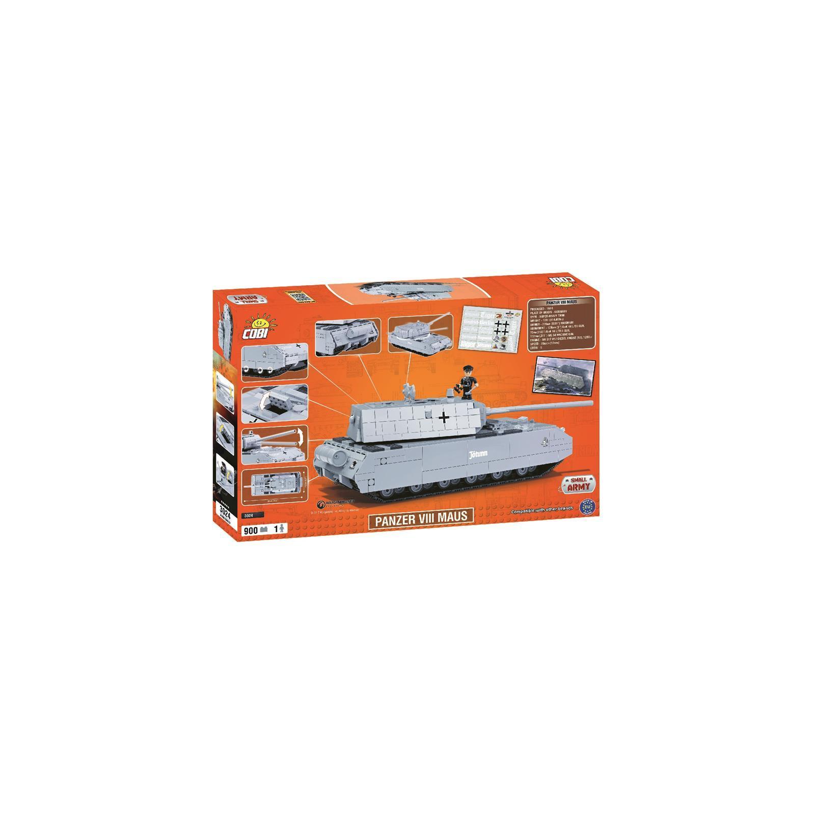 Конструктор Cobi World Of Tanks Maus, 900 деталей (COBI-3024) изображение 8