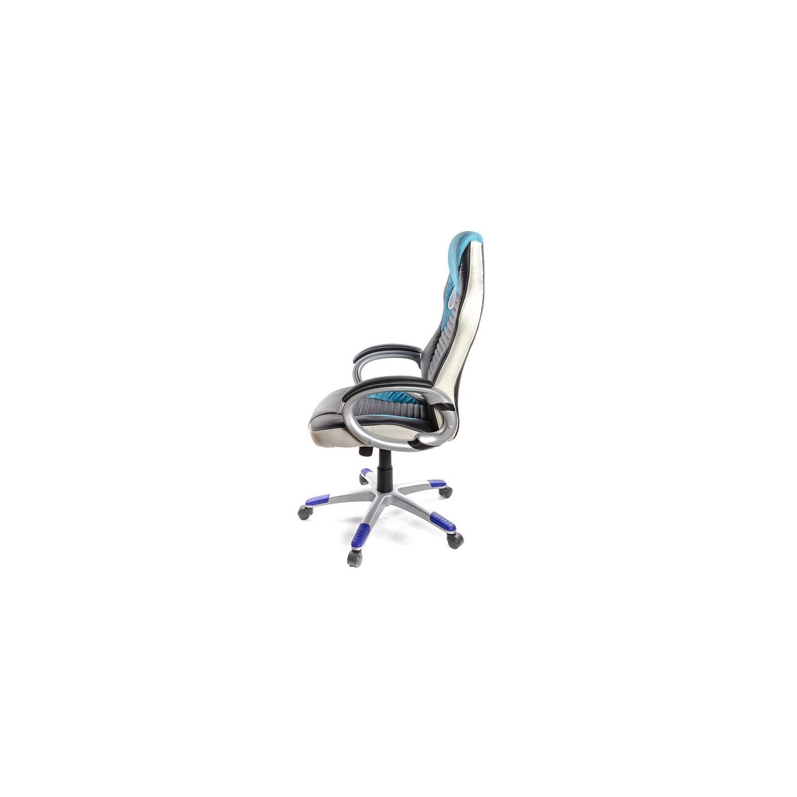 Кресло игровое АКЛАС Григ PL TILT Синее (06158) изображение 3