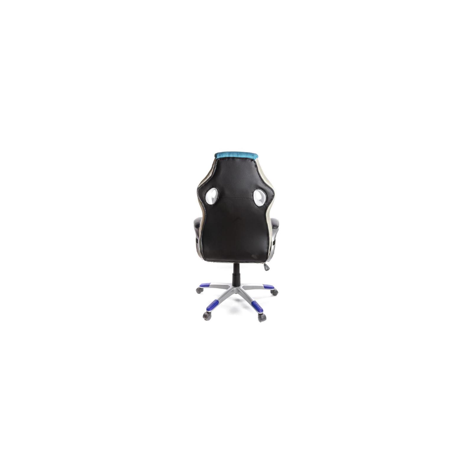 Кресло игровое АКЛАС Григ PL TILT Синее (06158) изображение 4