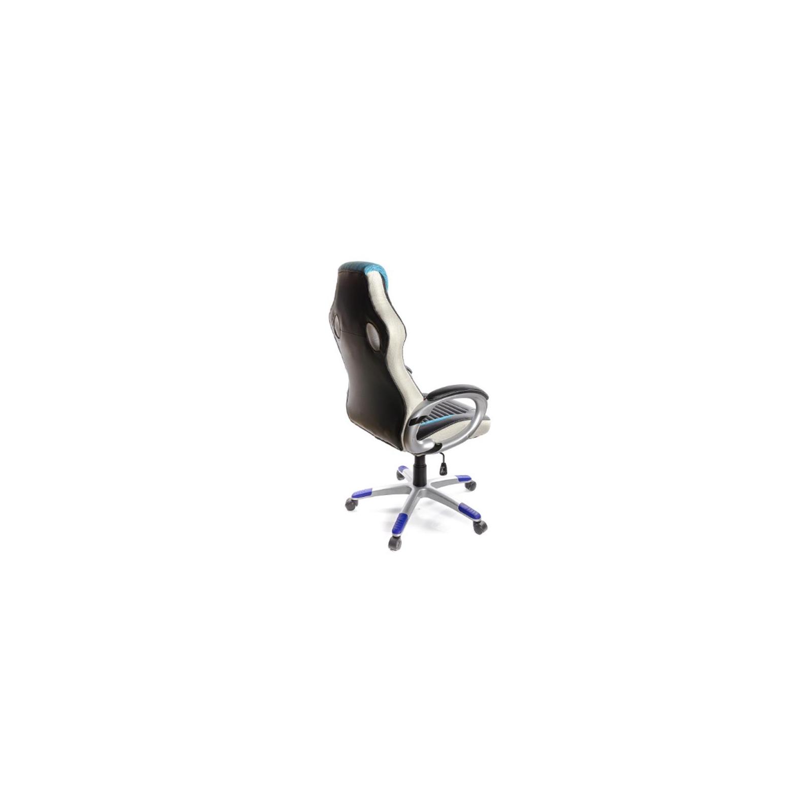 Кресло игровое АКЛАС Григ PL TILT Синее (06158) изображение 5