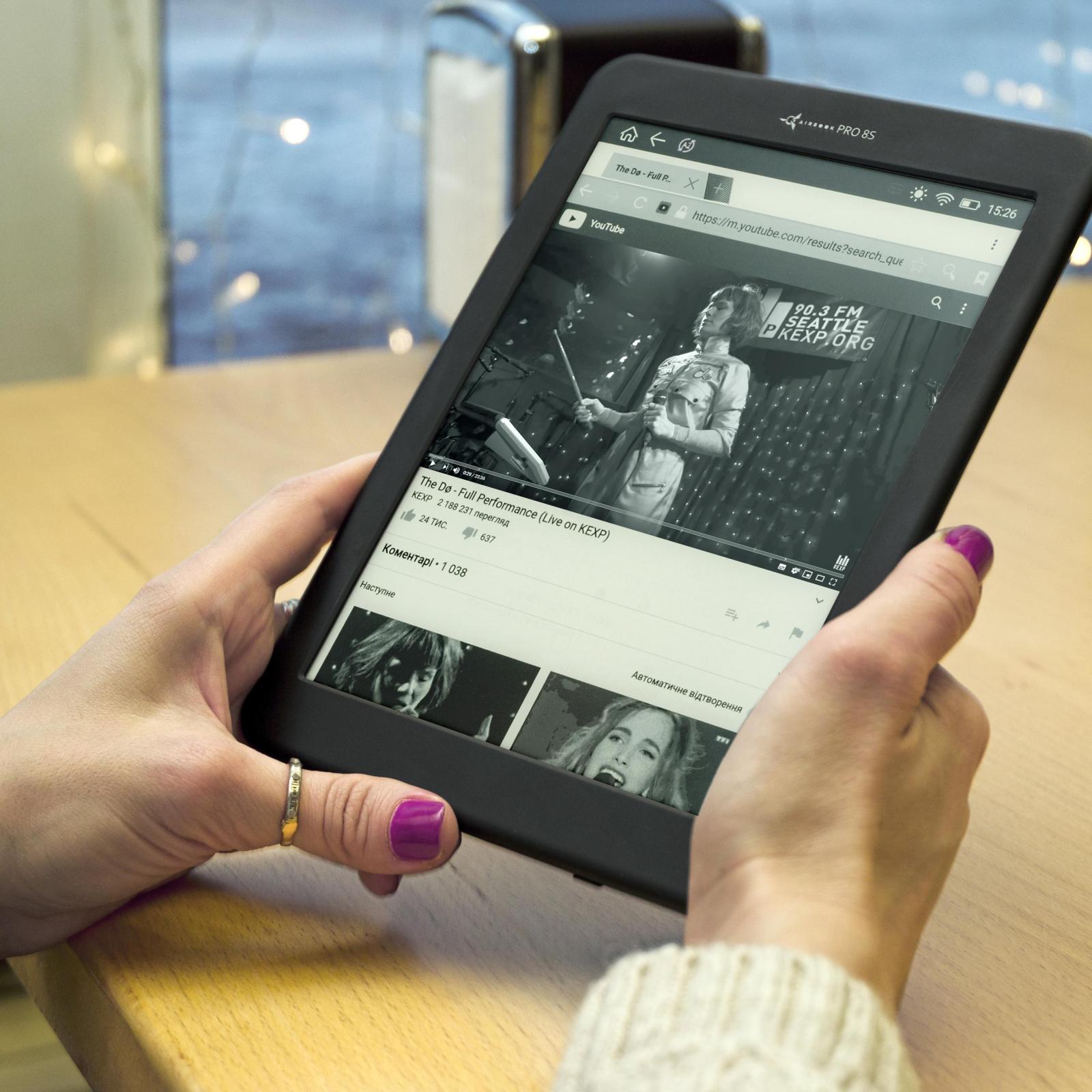 Электронная книга AirBook Pro 8 S изображение 6