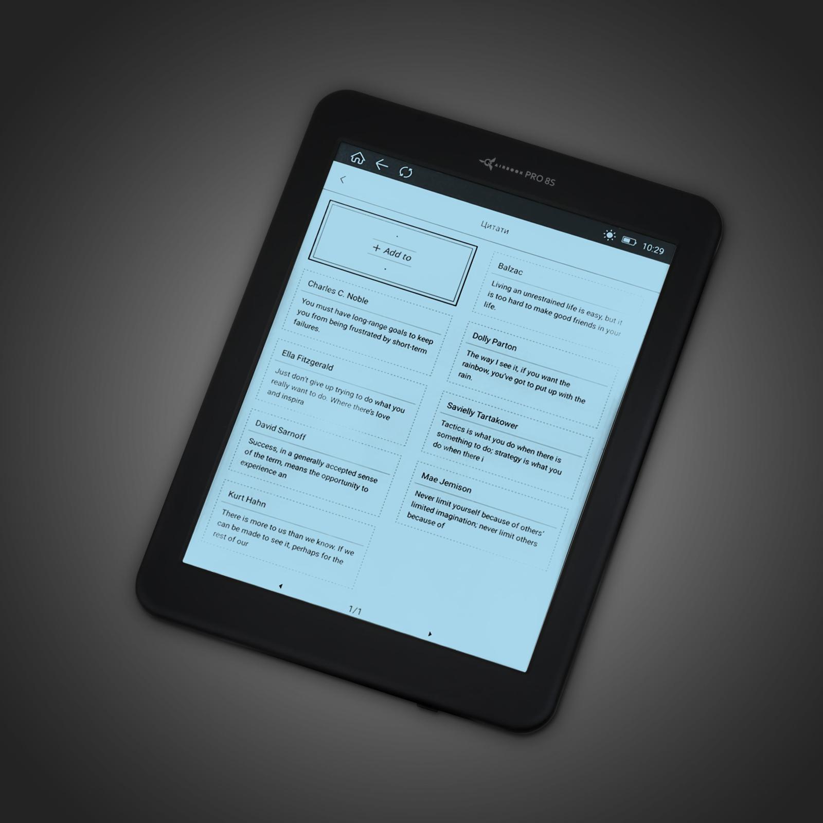 Электронная книга AirBook Pro 8 S изображение 8