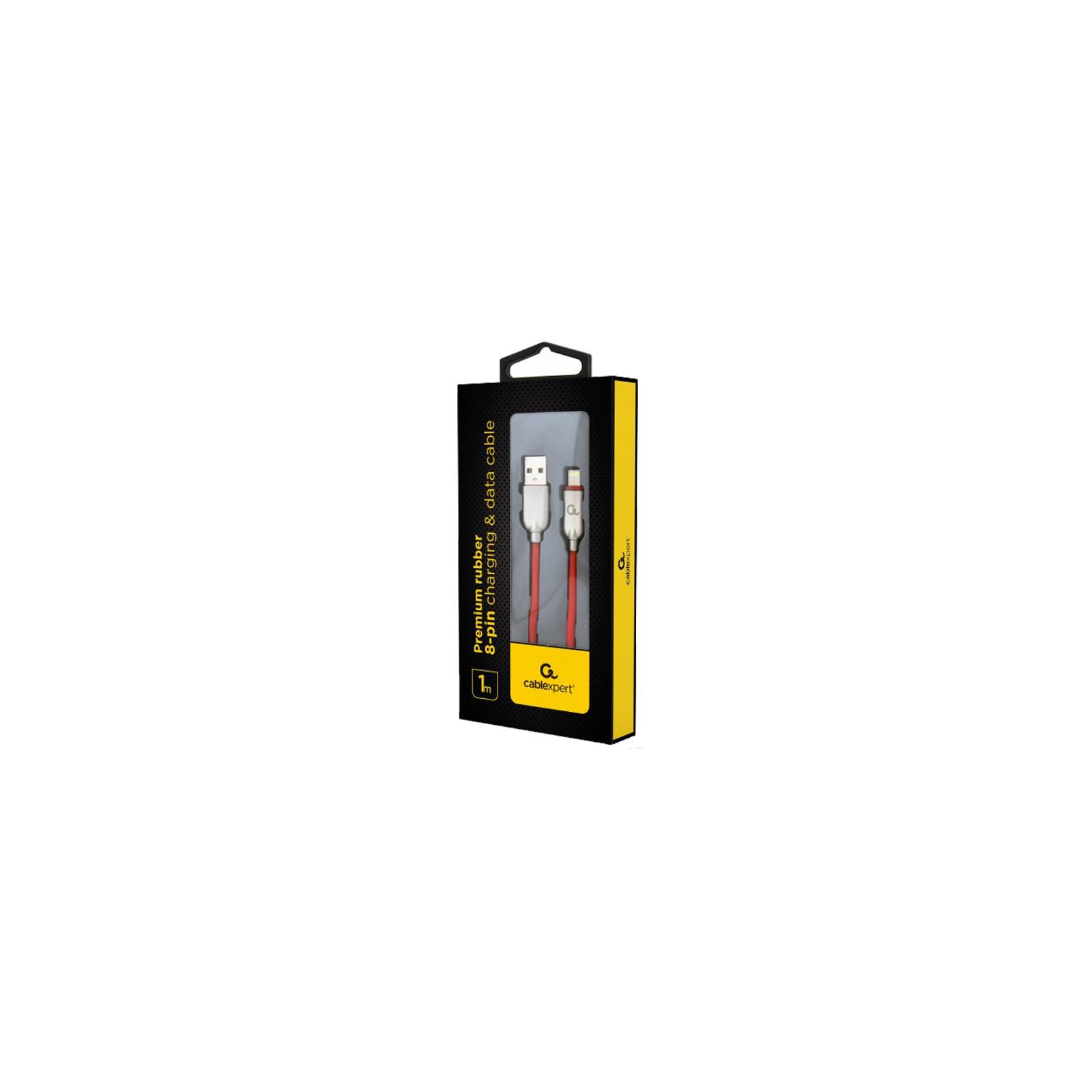 Дата кабель USB 2.0 AM to Lightning 1.0m Cablexpert (CC-USB2R-AMLM-1M) изображение 2