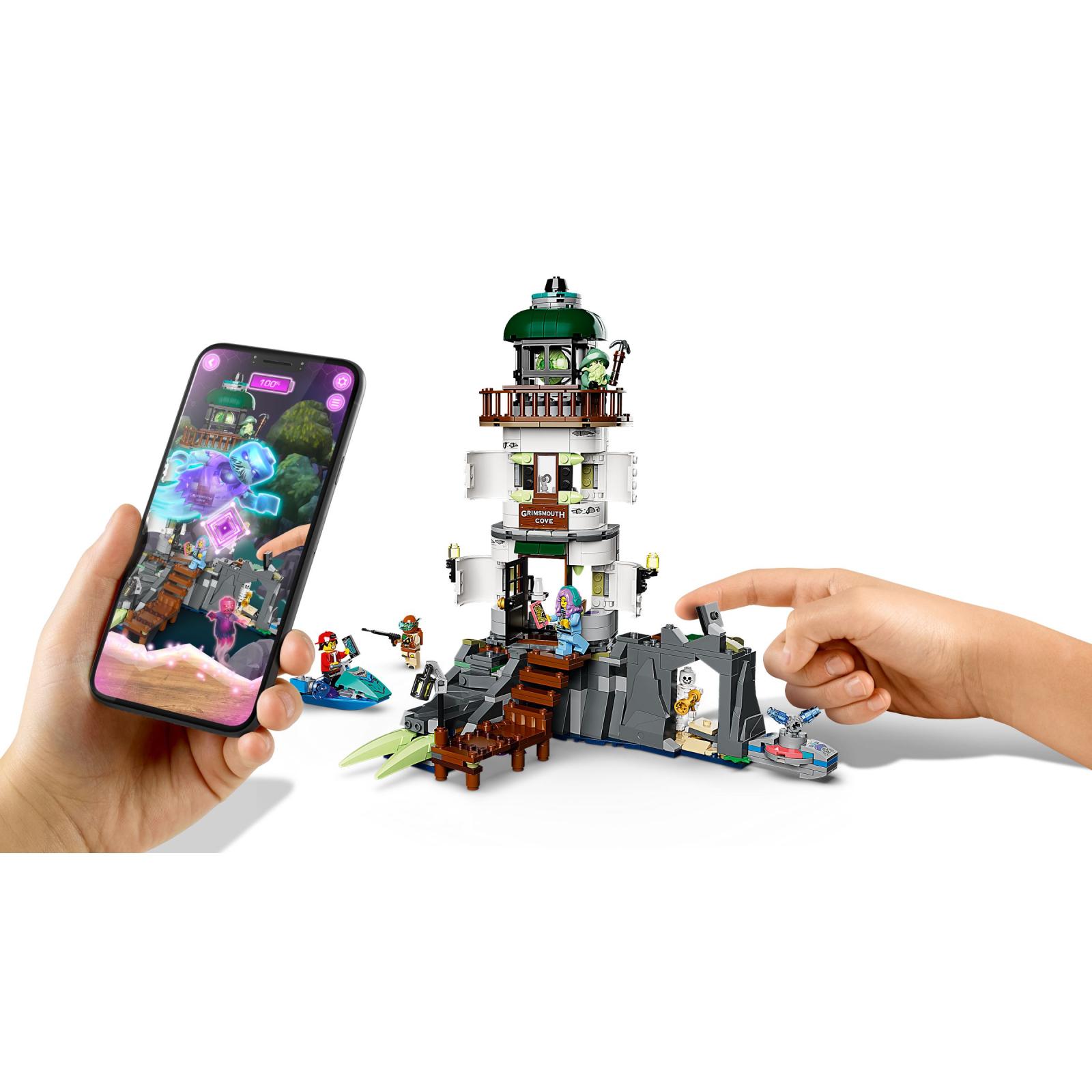 Конструктор LEGO Hidden Side Маяк тьмы 540 деталей (70431) цены в ...
