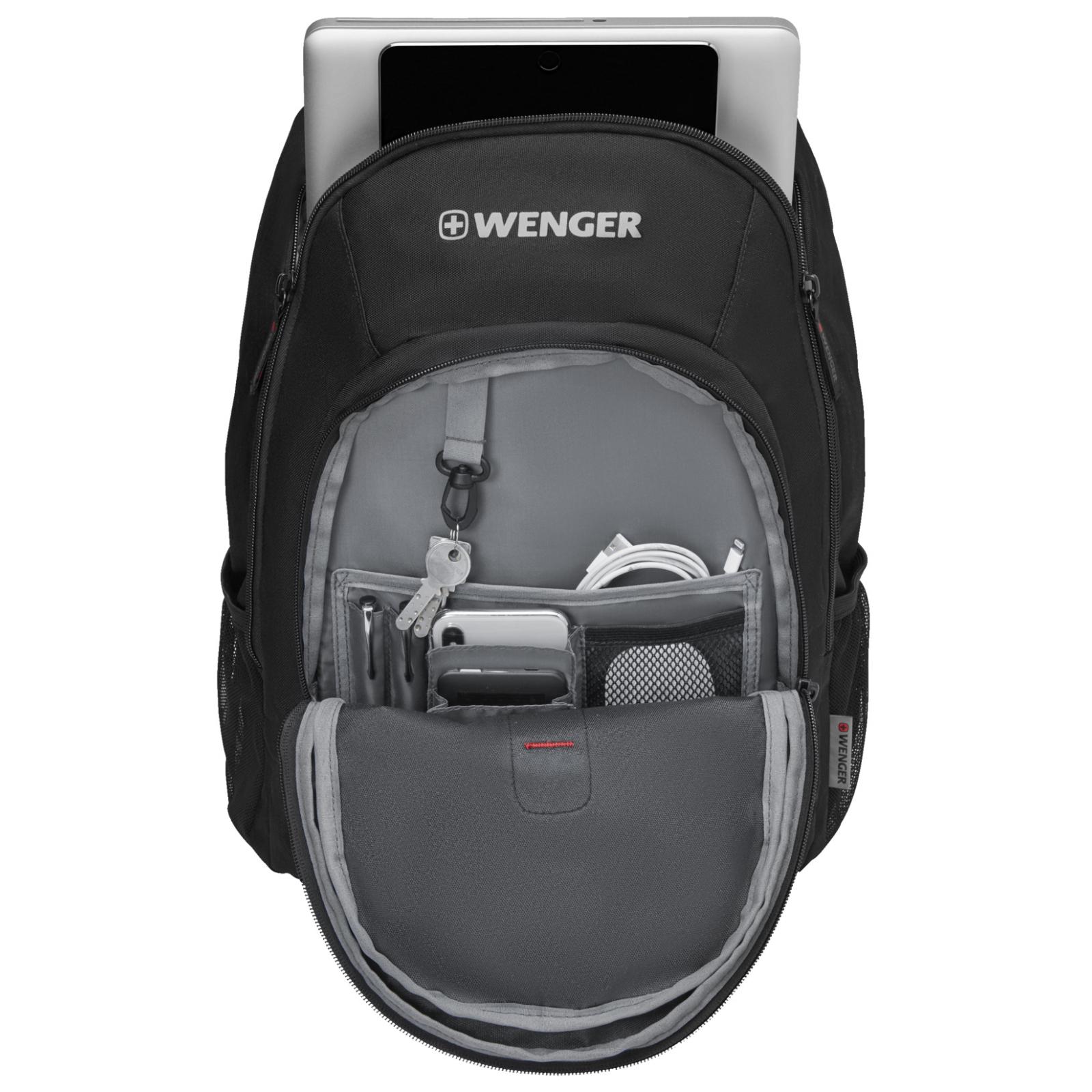 """Рюкзак для ноутбука Wenger 16"""" Mars Black (610205) изображение 3"""