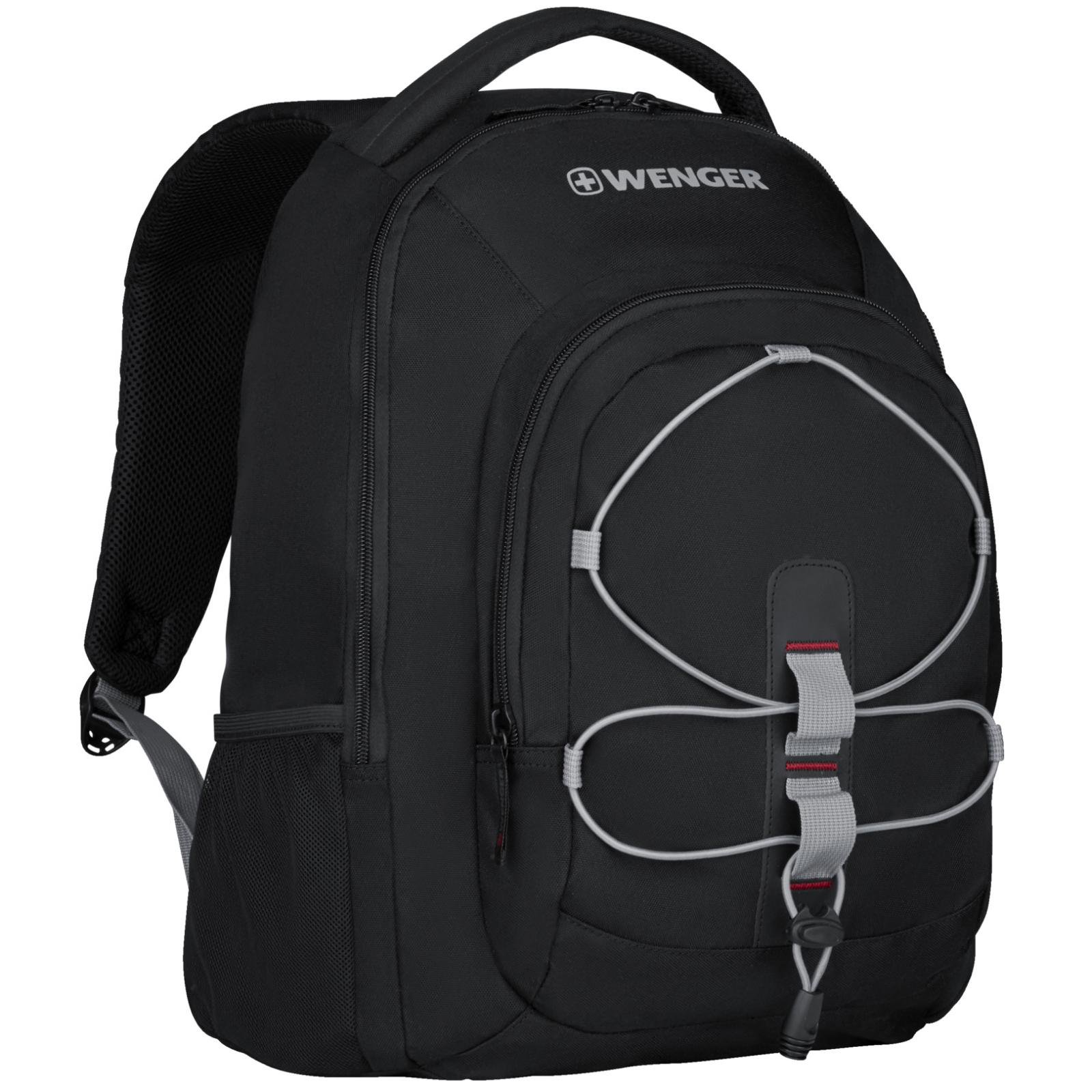 """Рюкзак для ноутбука Wenger 16"""" Mars Black (610205) изображение 4"""
