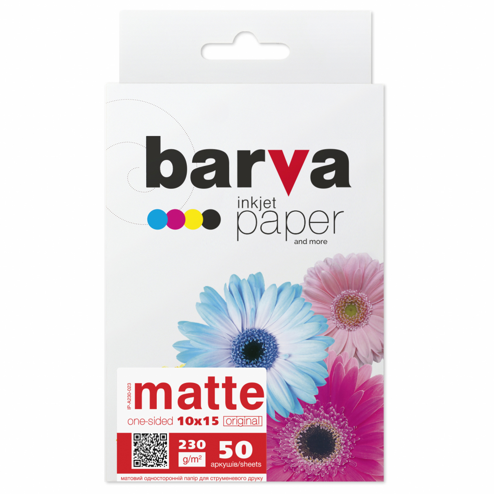 Бумага BARVA 10x15 (IP-A230-023)