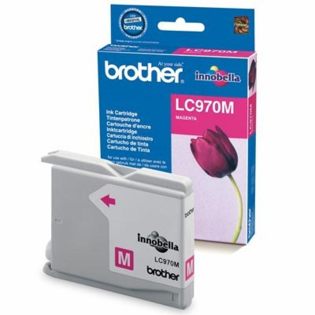 Картридж Brother DCP-135CR/150CR,MFC-235/260 magenta (LC970M)