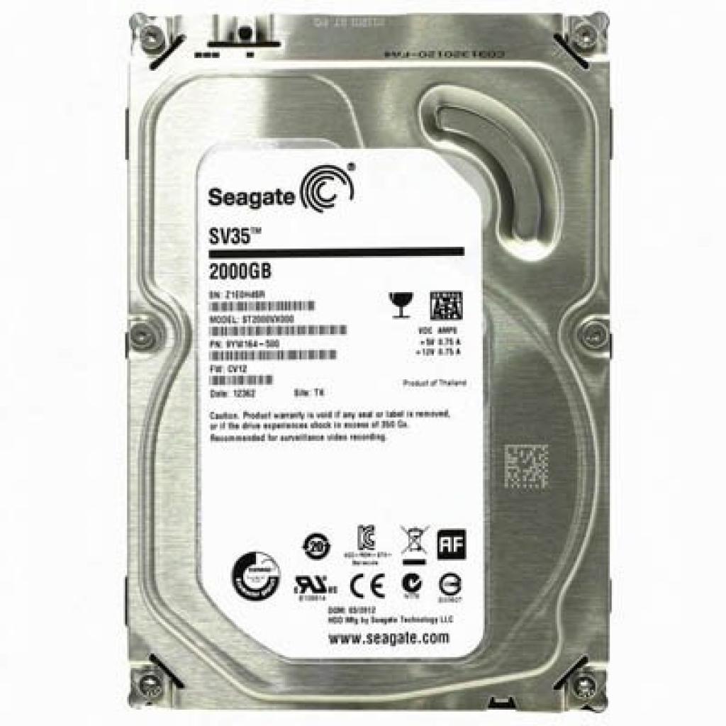 """Жесткий диск 3.5"""" 2TB Seagate (ST2000VX002)"""