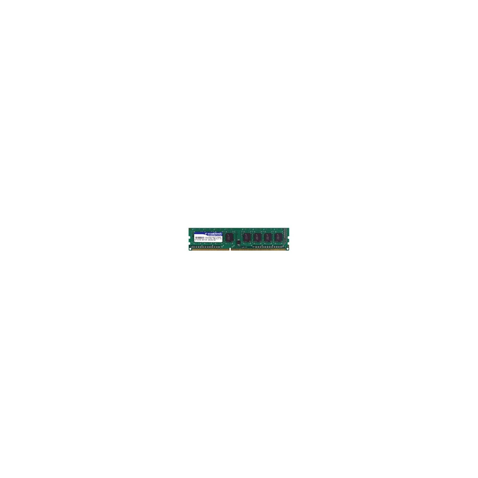 Модуль памяти для компьютера DDR3 4GB 1600 MHz Silicon Power (SP004GBLTU160N02 / SP004GBLTU160N01)