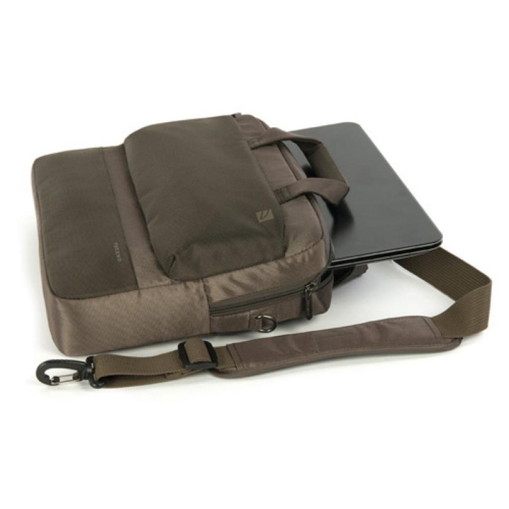 """Сумка для ноутбука Tucano 13-14"""" Dritta/Coffee (BDR1314-C) изображение 3"""