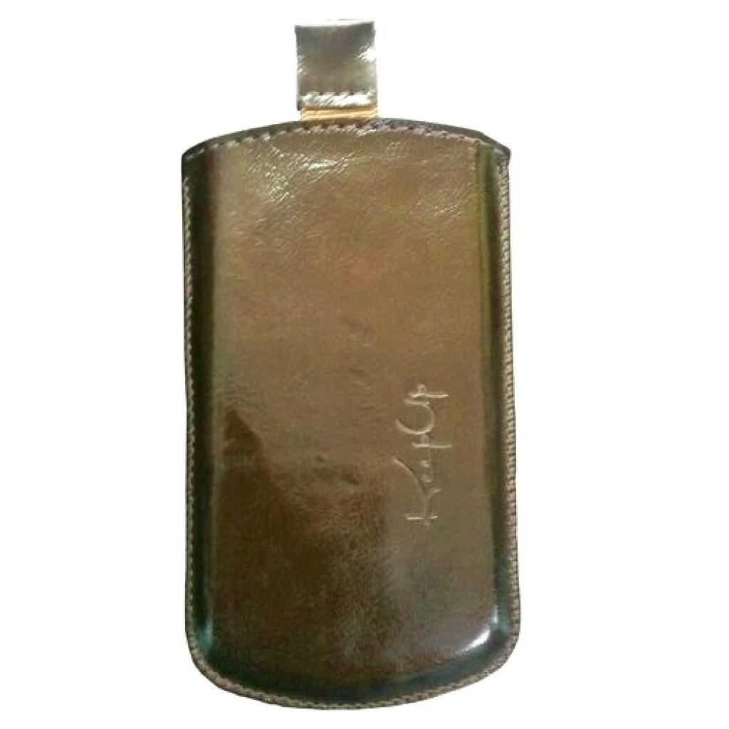 Чехол для моб. телефона KeepUp для HTC Desire C (A320e) Bronze/pouch (00-00007454)