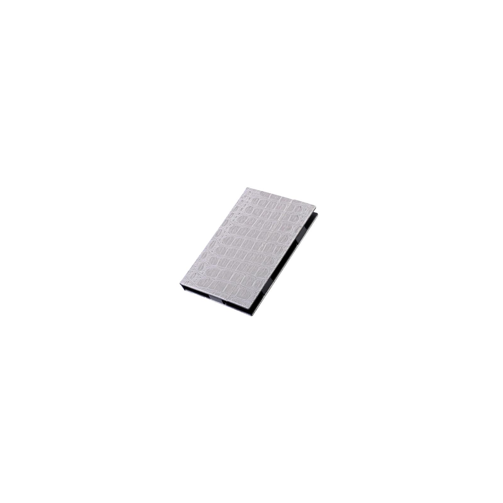 Чехол для планшета Vento 7 Desire glossy - silver reptile