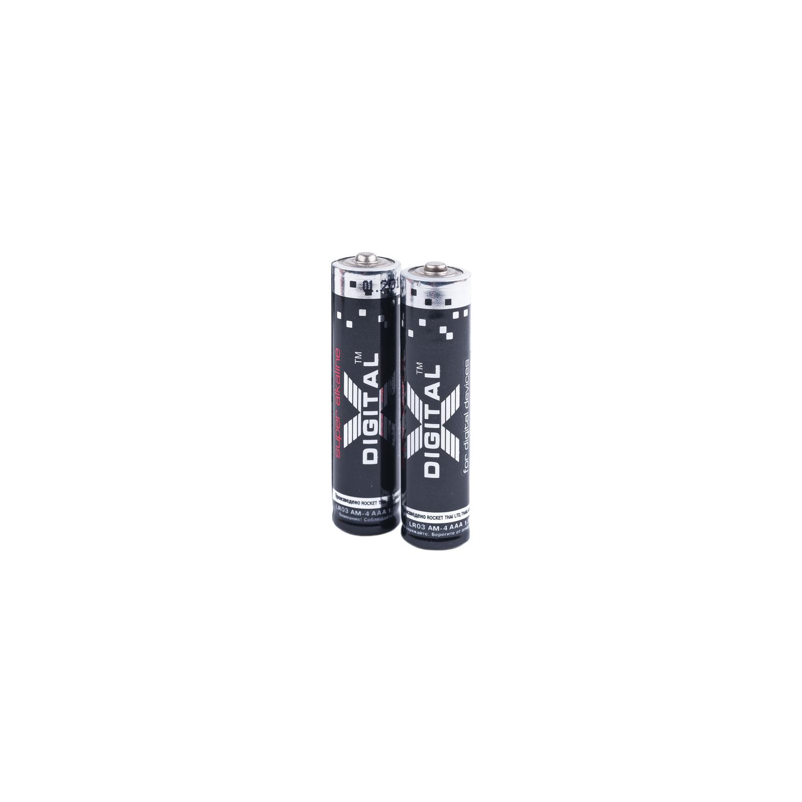 Батарейка X-DIGITAL LR03 X-DIGITAL * 2 (LR03 2BL X-Digital) изображение 2