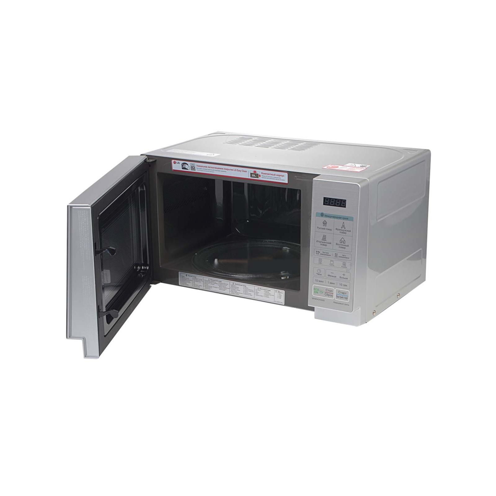 Микроволновая печь LG MH6043HANS изображение 5
