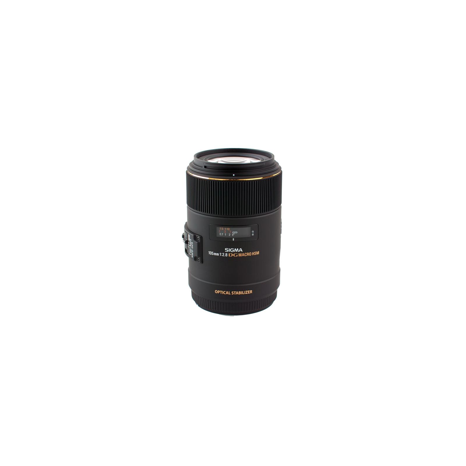 Объектив Sigma 105/2,8 EX Macro DG OS HS NIKON (258955)