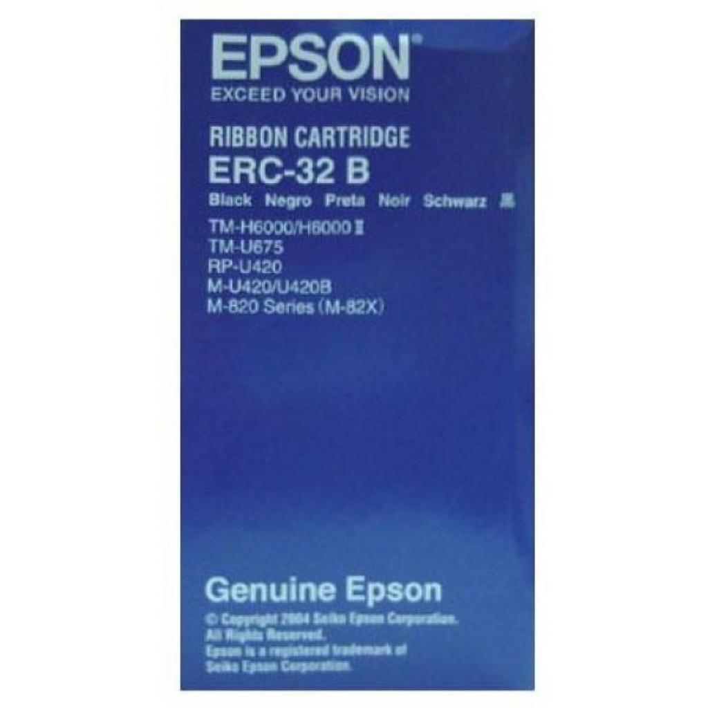 Картридж EPSON ERC32B, for TM-U675/TM-H6000III/TM-H6000IV, black (C43S015371) изображение 3