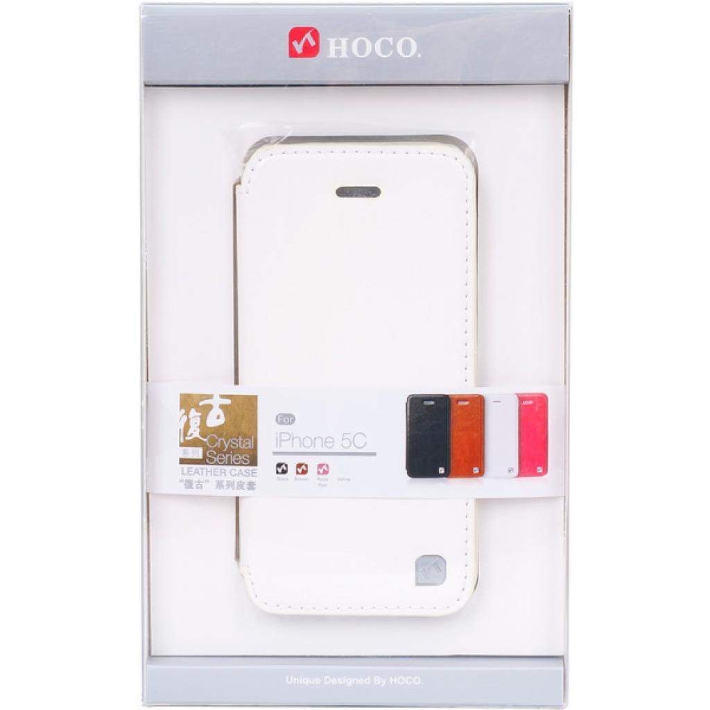 Чехол для моб. телефона HOCO для iPhone 5C /Crystal (HI-L038 White)