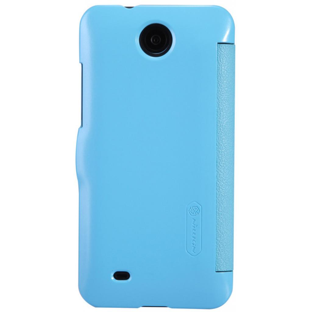Чехол для моб. телефона NILLKIN для HTC Desire 300 /Fresh/ Leather/Blue (6120403) изображение 2
