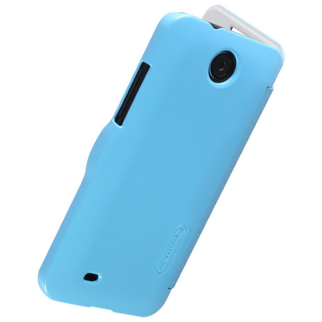 Чехол для моб. телефона NILLKIN для HTC Desire 300 /Fresh/ Leather/Blue (6120403) изображение 4