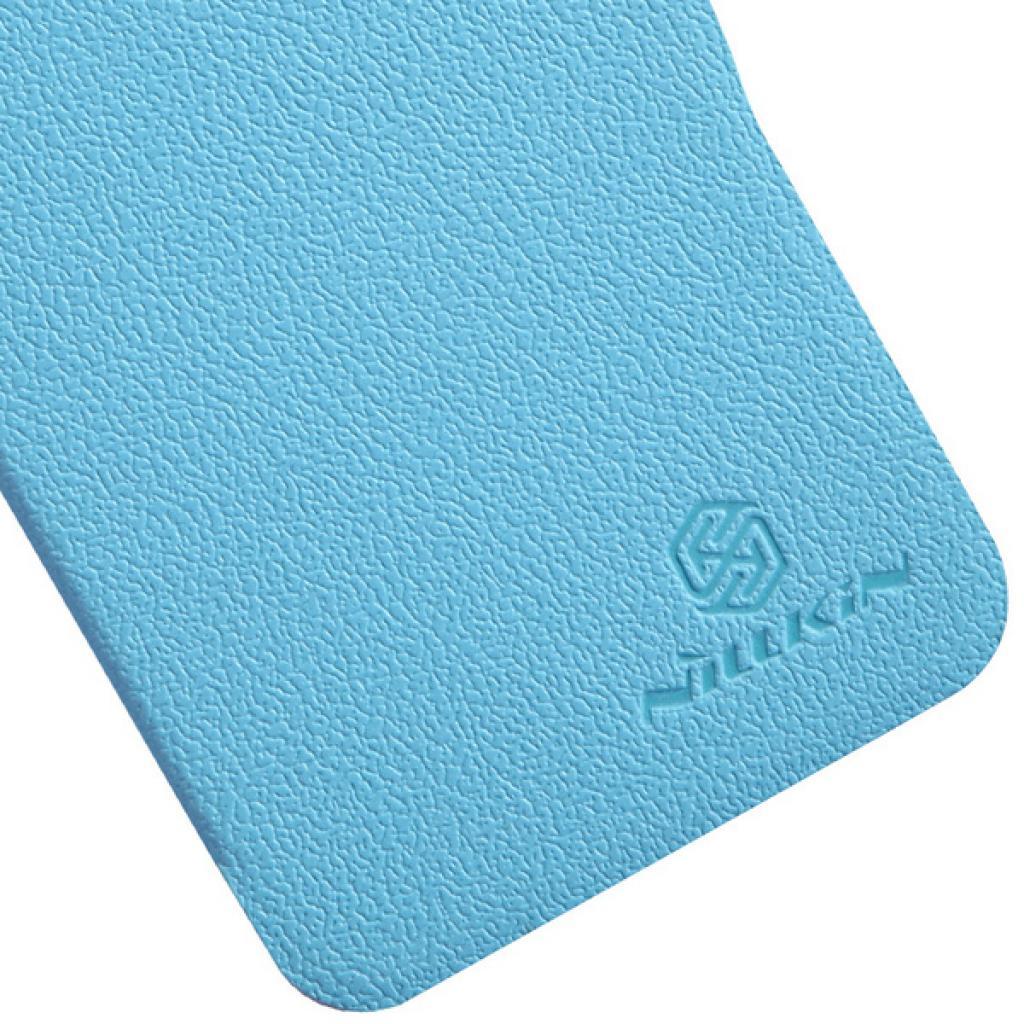 Чехол для моб. телефона NILLKIN для HTC Desire 300 /Fresh/ Leather/Blue (6120403) изображение 5
