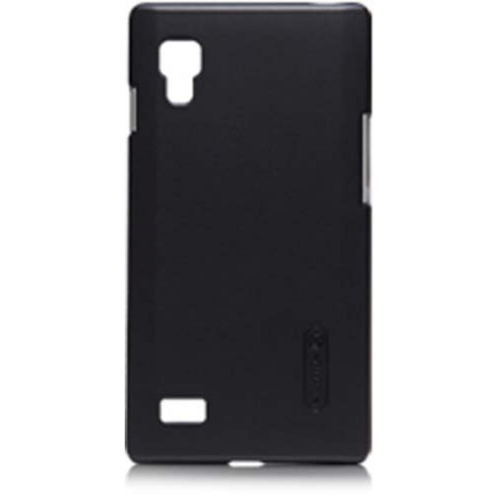 Чехол для моб. телефона NILLKIN для LG P765 L9 /Super Frosted Shield/Black (6065760)