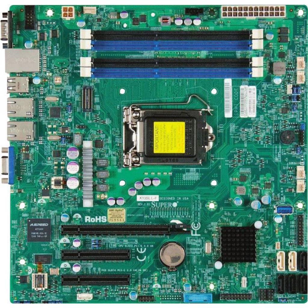 Серверная МП Supermicro X10SLL+-F