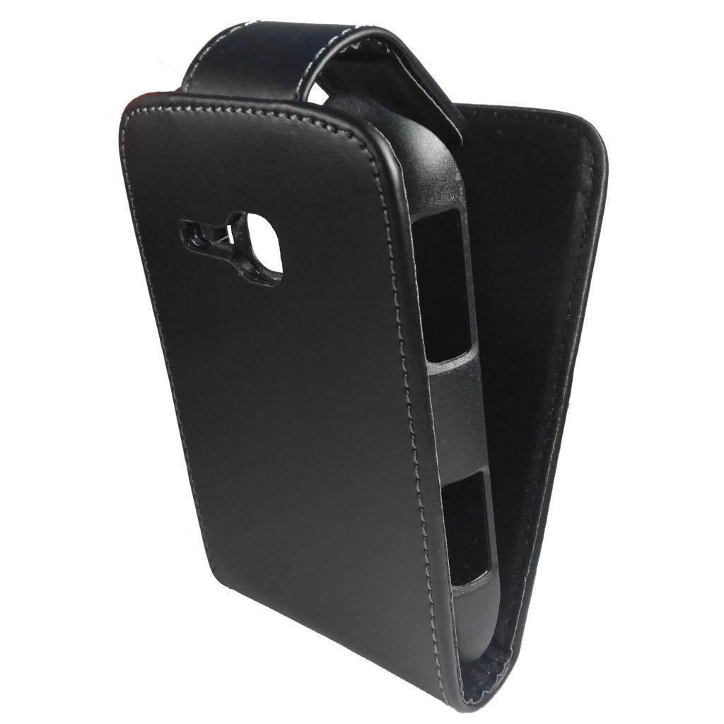 Чехол для моб. телефона GLOBAL для Samsung S6500 Galaxy S mini 2 (черный) (1283126446832)