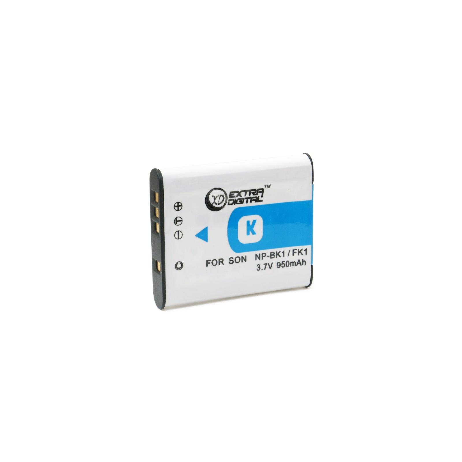 Аккумулятор к фото/видео EXTRADIGITAL Sony NP-BK1 (BDS2646) изображение 2