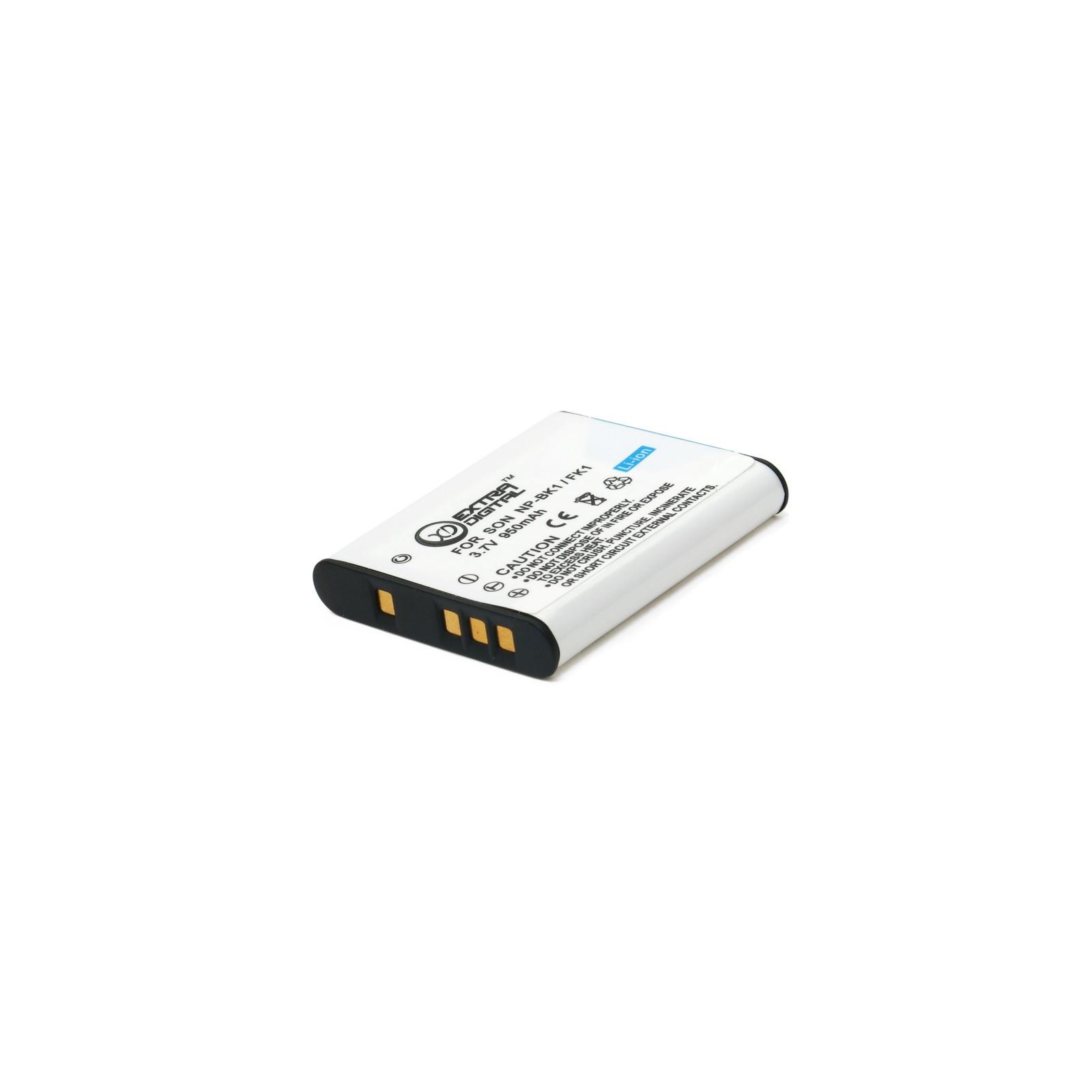 Аккумулятор к фото/видео EXTRADIGITAL Sony NP-BK1 (BDS2646) изображение 3