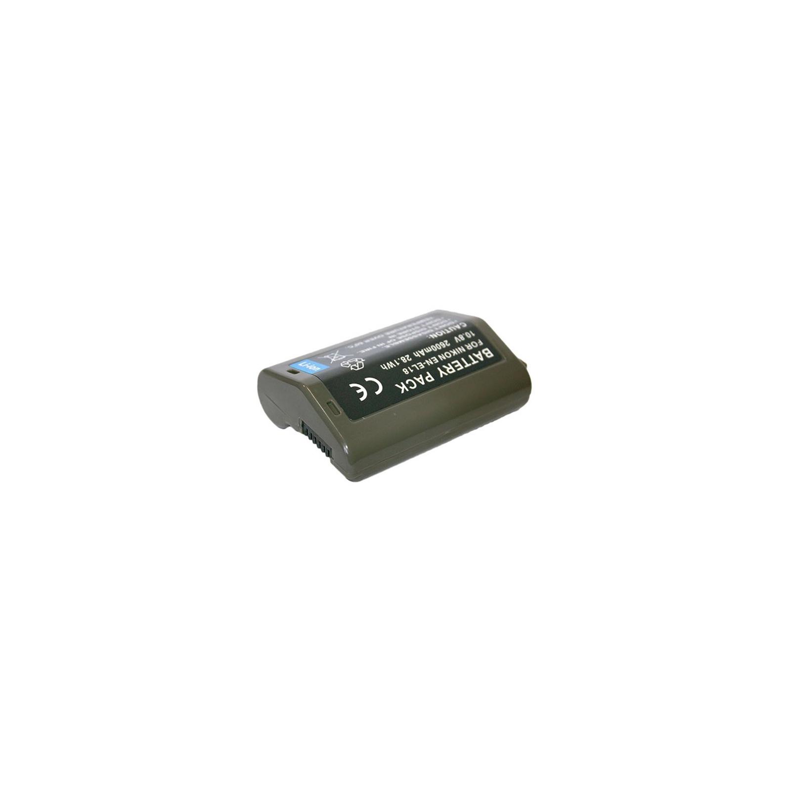 Аккумулятор к фото/видео EXTRADIGITAL Nikon EN-EL18 (DV00DV1384) изображение 2
