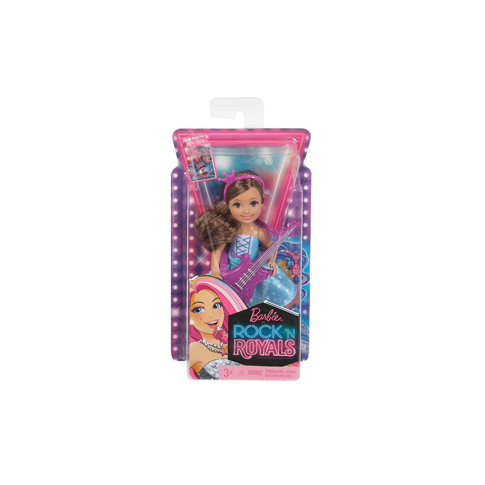 Кукла BARBIE Челси из м/ф Барби: Рок-принцесса с гитарой (CKB68-2) изображение 4