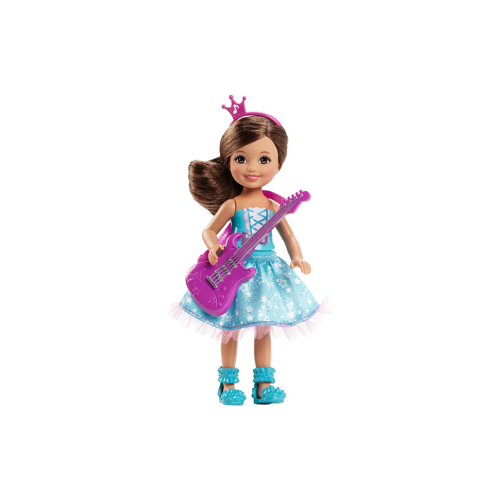 Кукла BARBIE Челси из м/ф Барби: Рок-принцесса с гитарой (CKB68-2)