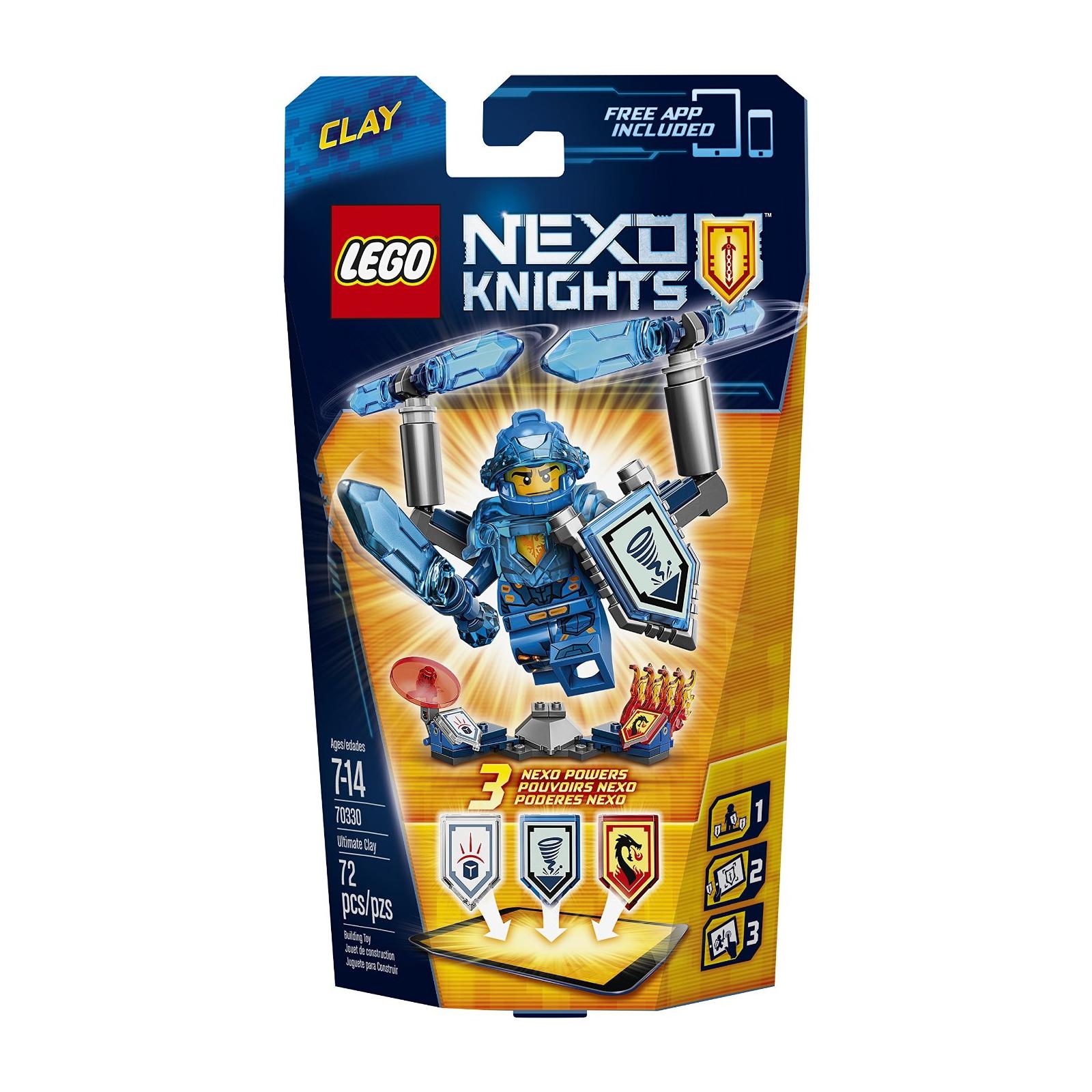 Конструктор LEGO Nexo Knights Клэй Абсолютная сила (70330) изображение 9