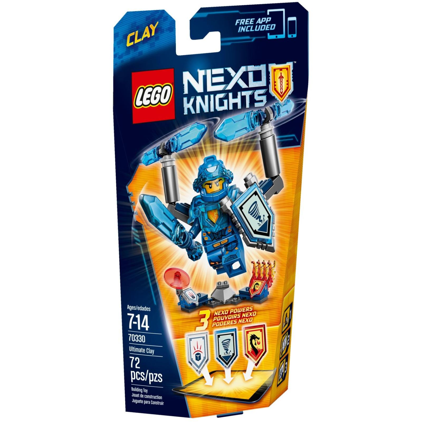 Конструктор LEGO Nexo Knights Клэй Абсолютная сила (70330)