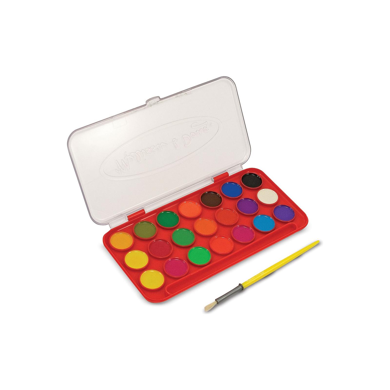 Набор для творчества Melissa&Doug Акварельные краски 21 цвет (MD4120) изображение 2