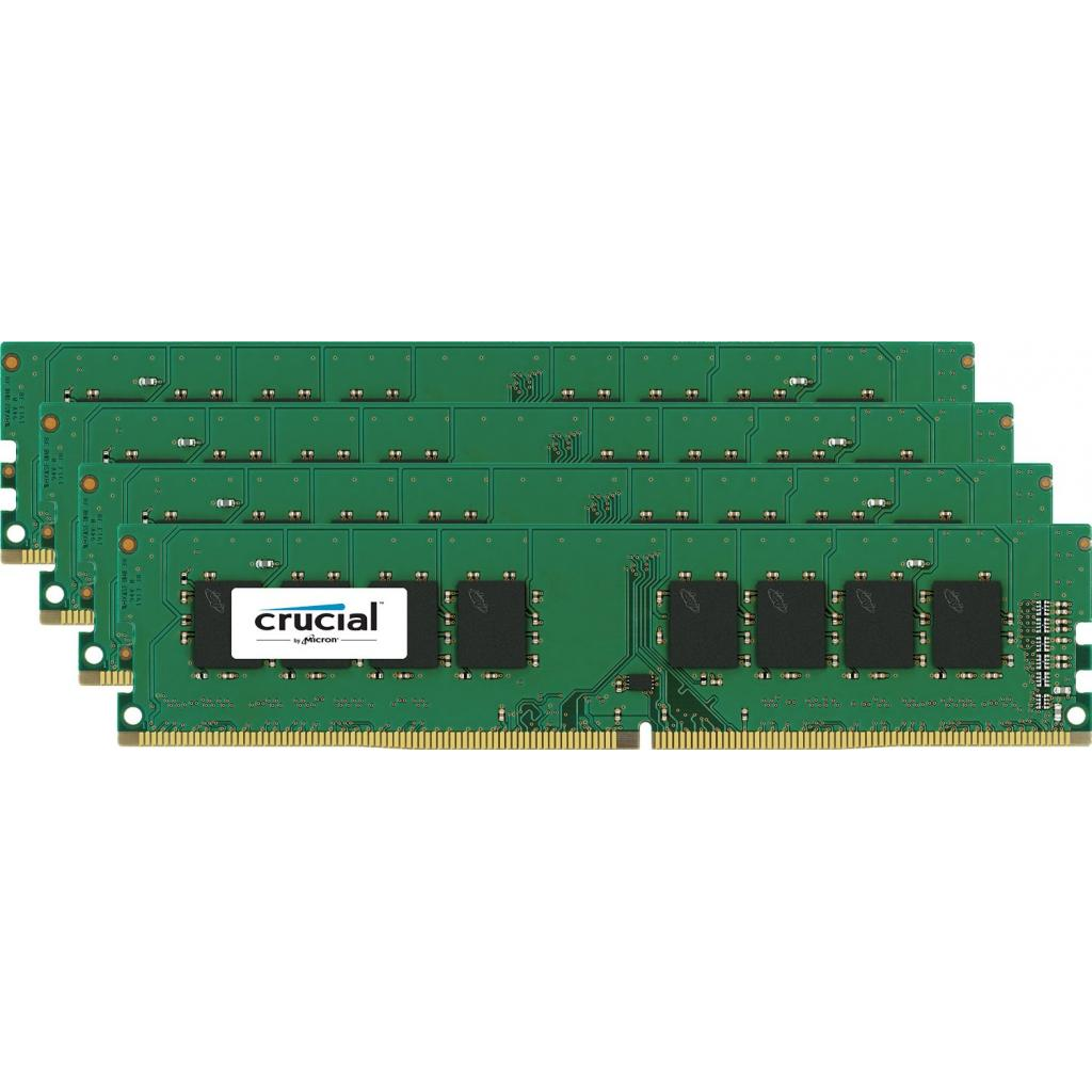 Модуль памяти для компьютера DDR4 32GB (4x8GB) 2133 MHz Micron (CT4K8G4DFD8213)