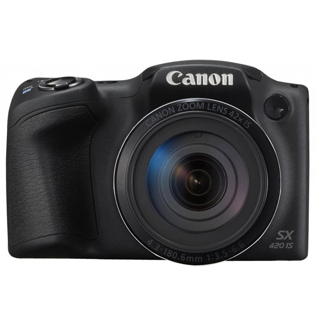 Цифровой фотоаппарат Canon PowerShot SX420 IS Black (1068C012) изображение 2