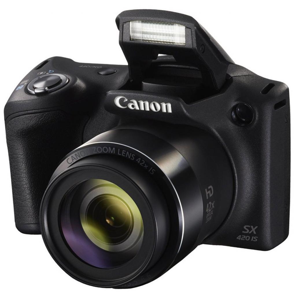 Цифровой фотоаппарат Canon PowerShot SX420 IS Black (1068C012) изображение 3