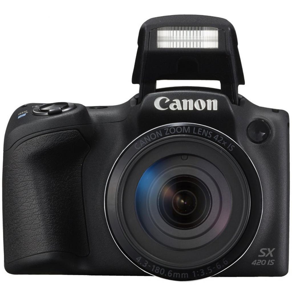 Цифровой фотоаппарат Canon PowerShot SX420 IS Black (1068C012) изображение 4