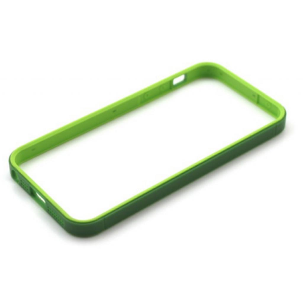 Чехол для моб. телефона JCPAL Anti-shock Bumper 3 in 1 для iPhone 5S/5 Set-Green (JCP3315) изображение 2
