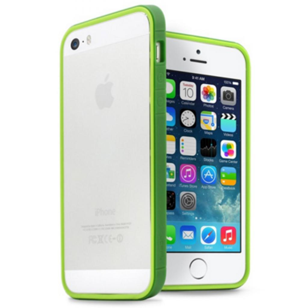 Чехол для моб. телефона JCPAL Anti-shock Bumper 3 in 1 для iPhone 5S/5 Set-Green (JCP3315)