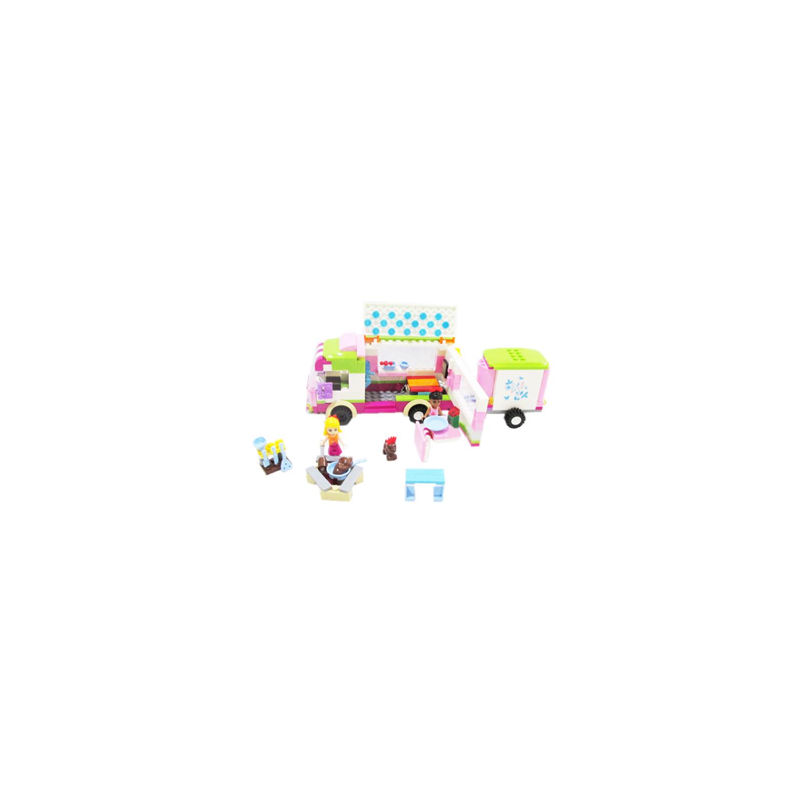 Конструктор Dreamlock Радужный город Автобус для пикника (6700) изображение 2